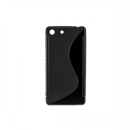 BACK CASE S - SAMSUNG GALAXY S4 MINI (I9190) Black