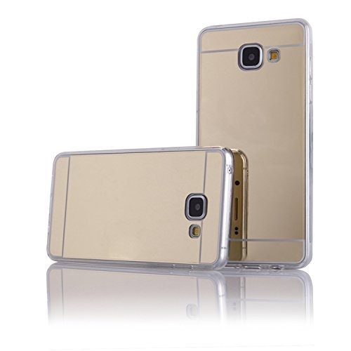 JELLY CASE AMA MIRROR – IPHONE 5G/5S/SE Χρυσό