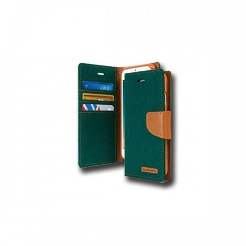 Canvas Case - IPHONE 7/8 dark green canvas case