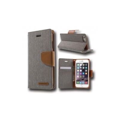 Canvas Case - IPHONE 7/8 grey canvas case