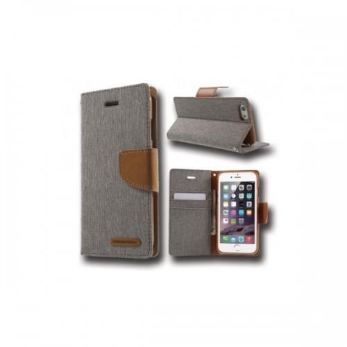 Canvas Case - IPHONE 7/8 grey canvas case