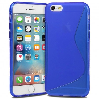 BACK CASE S - IPHONE 6 PLUS BLUE