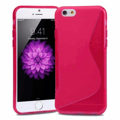 BACK CASE S - IPHONE 6/6S Ροζ