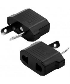 Υψηλής ποιότητας ηλεκτρικός αντάπτορας από US σε AU για AC τοίχου (μαύρο)