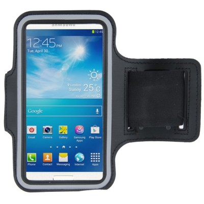 Sports Armband Case for Samsung Galaxy SIII / i9300, S4 Mini / i919 (Black)