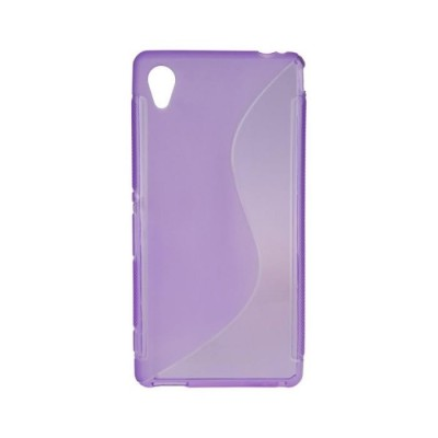 BACK CASE S - SAMSUNG GALAXY S6 EDGE (G925) PURPLE