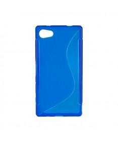 BACK CASE S - SAMSUNG GALAXY S6 EDGE (G925) Blue