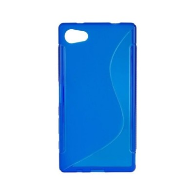 BACK CASE S - SAMSUNG GALAXY S6 EDGE (G925) BLUE