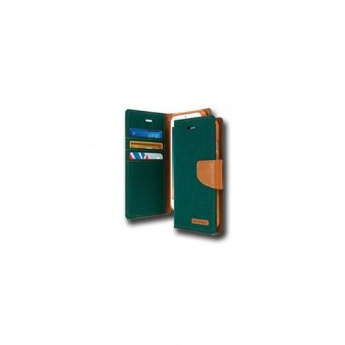 Canvas Case - SAMSUNG GALAXY J5 2017 σκούρο πράσινο