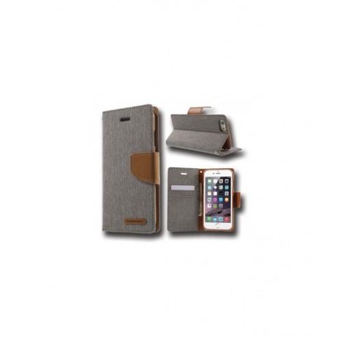 Canvas Case - SAMSUNG GALAXY S8 EDGE γκρι