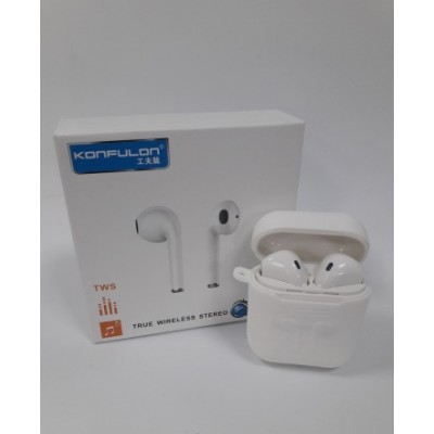 Konfulon TWS True Wireless Stereo F10S (Λευκό χρώμα)