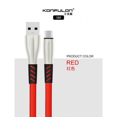 Konfulon micro usb charge data cable