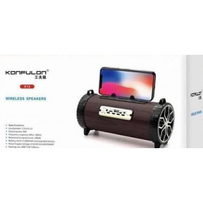 Konfulon FM Bluetooth Speaker K12