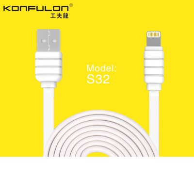 Konfulon Cable S32 Ligthtning 1.2m 2.1A