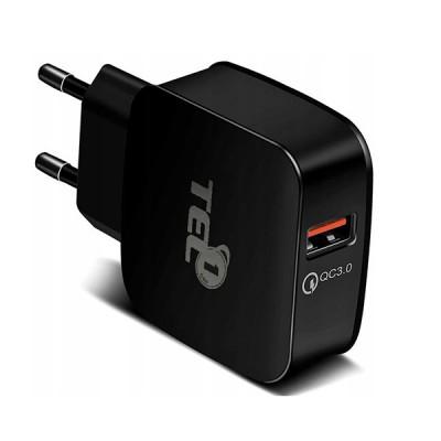 TEL Charger TEL1 QC 3.0 (Black)