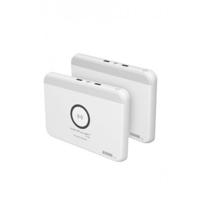 Konfulon Powerbank PS-02 25.000 mAh WHITE