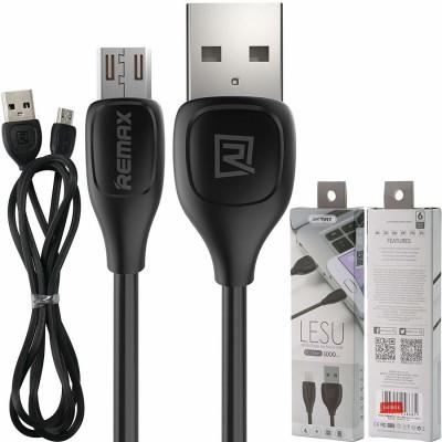 REMAX RC-050m LESU DATA CABLE For micro USB Μαύρο