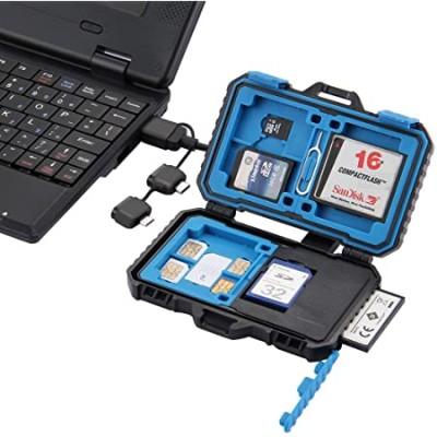 PULUZ Anti-shock Waterproof Memory Card Case Holder Hard Storage