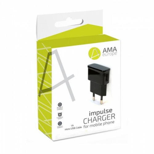 AMA TRAVEL CHARGER - 2A MICRO USB