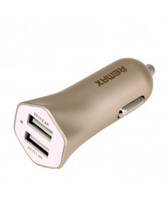 REMAX UNIVERSAL CAR CHARGER FAST 7 2X USB Gold