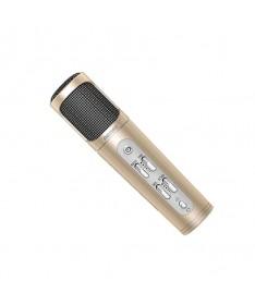 REMAX K02 MICROPHONE Χρυσό