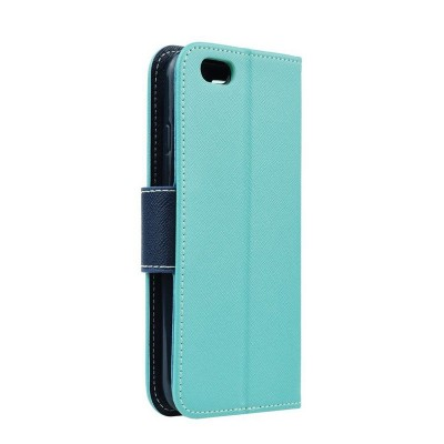 FANCY BOOK CASE - IPHONE 5G/5S/SE MINT-NAVY