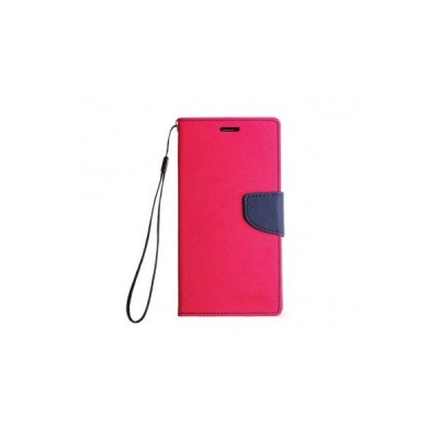 FANCY BOOK CASE - SAMSUNG GALAXY A7 2016 (A710) PINK-NAVY