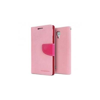 FANCY BOOK CASE - SAMSUNG GALAXY S6 EDGE (G925) PINK