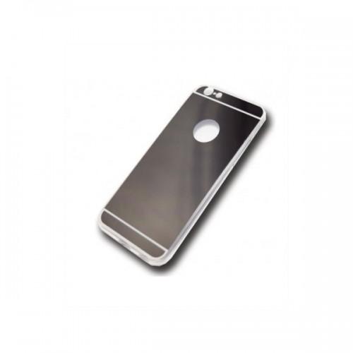 JELLY CASE AMA MIRROR – IPHONE 5G/5S/SE ΓΚΡΙ