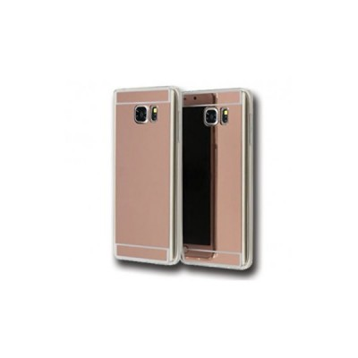 JELLY CASE AMA MIRROR – SAMSUNG GALAXY S6 EDGE (G925) ΡΟΖ ΧΡΥΣΟ