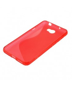 BACK CASE S - IPHONE 5G/5S/SE Κόκκινο