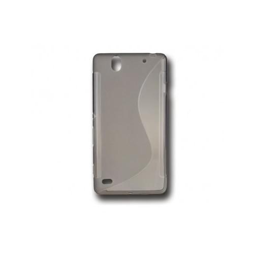 BACK CASE S - IPHONE 6 PLUS BLACK-TRANSPARENT