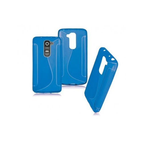 BACK CASE S - SAMSUNG GALAXY A5 (A500) BLUE