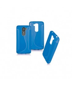 BACK CASE S - SAMSUNG GALAXY J1 (J100) Blue