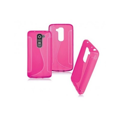 BACK CASE S - SAMSUNG GALAXY J1 (J100) PINK