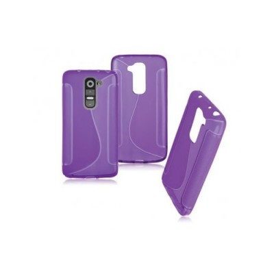 BACK CASE S - SAMSUNG GALAXY J1 (J100) PURPLE