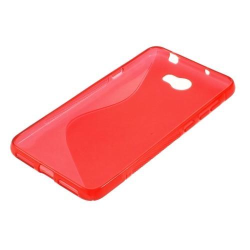 BACK CASE S - SAMSUNG GALAXY J1 (J100) RED