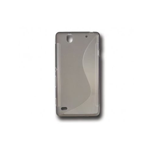 BACK CASE S - SAMSUNG GALAXY J5 (J500) BLACK-TRANSPARENT