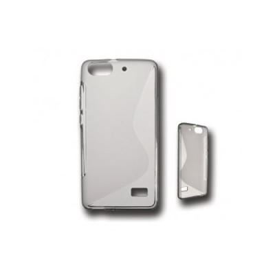 BACK CASE S - SAMSUNG GALAXY S4 MINI (I9190) TRANSPARENT