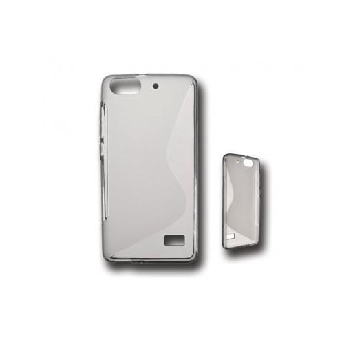 BACK CASE S - SAMSUNG GALAXY S4 MINI (I9190) TRANSPARENT