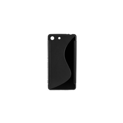 BACK CASE S - SAMSUNG GALAXY S6 EDGE (G925) BLACK
