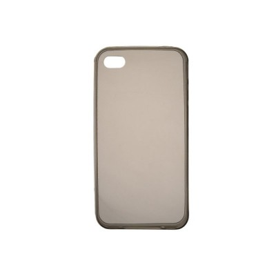 BACK CASE ULTRA SLIM 0.3 MM - IPHONE 4/4S Μαύρο