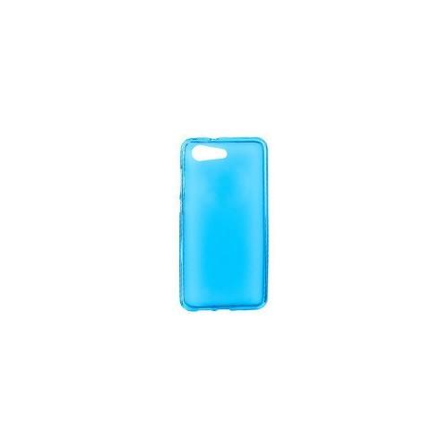 BACK CASE ULTRA SLIM 0.3 MM - IPHONE 4/4S ΜΠΛΕ