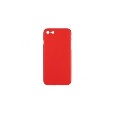 BACK CASE ULTRA SLIM 0.3 MM - IPHONE 5G/5S ΚΟΚΚΙΝΟ