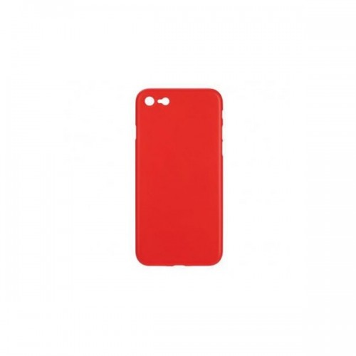 BACK CASE ULTRA SLIM 0.3 MM - IPHONE 5G/5S ΚΟΚΚΙΝΟ