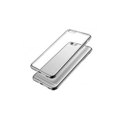 PLATED TPU CASE - HUAWEI ASCEND P8 LITE Silver