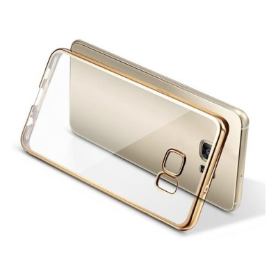 PLATED TPU CASE - SAMSUNG GALAXY S6 EDGE GOLD