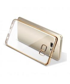 PLATED TPU CASE - SAMSUNG GALAXY S7 EDGE Χρυσό