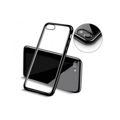 PLATED TPU CASE - IPHONE 6/6S ΜΑΥΡΟ
