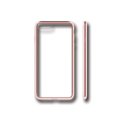 PLATED TPU CASE - IPHONE 7 PLUS ΡΟΖ ΧΡΥΣΟ